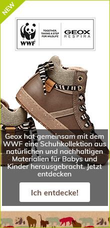 Geox hat gemeinsam mit dem WWF eine Schuhkollektion