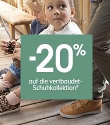 -20% auf die vertbaudet-Schuhkollektion
