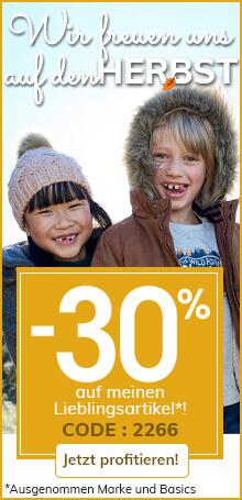 Wir freuen uns auf den Herbst ! -30% sauf meinen Lieblingsartikel*!