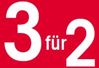 3 pour 2