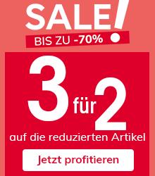 Sale! Bis zu -70%*