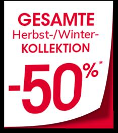 SALE! FINAL CLEARANCE | GESAMTE Herbst-Winter KOLLEKTION -50%*